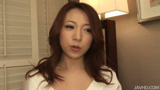 Cute and pretty face_bitch Kanako posing on a cam and giving blowjob Preview Image