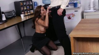 A superb boobfuck performed by slutty secreatry Francesca Le Preview Image