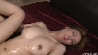 Busty Rei drilled hard and creamed in her hairy muff Preview Image