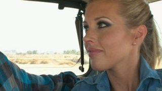 Hitchhiker Samantha Saint wants to have some fun Preview Image