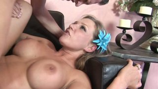 Spoiled chick Nikki Sexx gets a hard missionary fuck Preview Image
