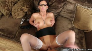 Secretary_styled__Phoenix_Marie_gets_her_pussy_pov_fucked Preview Image
