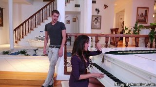 Sexy pianist girl Capri Cavanni gets her pussy licked Preview Image