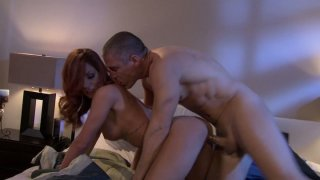 Nice facial after crazy doggystyle fucking for Kirsten Price Preview Image