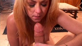 Filthy blonde cunt Trinity Post sucks and fucks doggystyle Preview Image