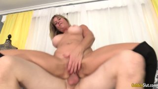 facial: Cock craving older floozy sky haven gets pounded hard and facialized Preview Image