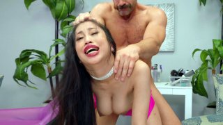 Jade Kush gets fucked by Charles_Dera standing Preview Image