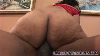 Plump_ebony_bitch_Cashmere_Mist_gets_her_booty_drilled_from_behind Preview Image