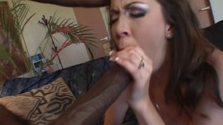 Cute girl Trinity Post goes nasty and shameless with big black dick Preview Image