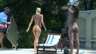 Backstage footage of how Sophie Moone and Melissa do what they do best Preview Image