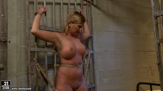 Busty fluffy mommy Pamela gets grounded by Kathia Nobili Preview Image