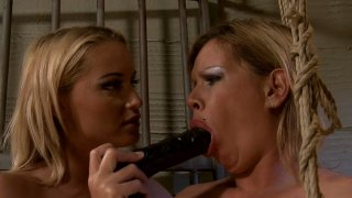 BDSM fun in the prison cage with naughty MILFs Pamela_and Kathia Nobili Preview Image