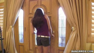 Seductive brunette Sochee Malo and her girlfriends Preview Image