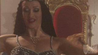 Charming princess Roxy DeVille gets fucked with young Aladdin Preview Image