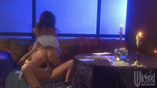 Horny briunette Kaylani Lei making love by candlelights Preview Image