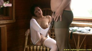 Charming girlie Madlena rides a stiff and hot tool in the attic Preview Image
