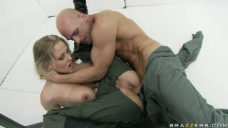Julia Ann plays role games_and fucks her boyfriend Preview Image
