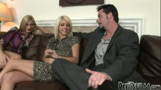 Tessa Taylor is so eager for a threesome with one guy and one milf blonde Preview Image