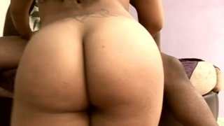 Torn Latino slut Millian Blu gets nailed hard by a strong black dick Preview Image