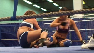 Angry_lesbians_Rihanna_and_Samuel_Bellina_have_a_wrestling_fun Preview Image