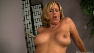 Whore wife Jodi West getting fucked by next door guy Ralph Long Preview Image