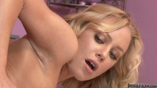 Amazing chick with smooth ass Nicole Aniston rides a stiff hot and long tool Preview Image