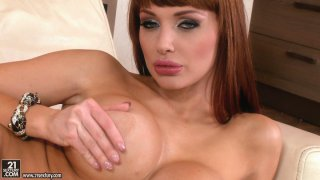 World famous porn star Aletta Ocean gives tempting striptease show Preview Image