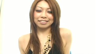 Naughty ginger Asian Nozomi Uehara lets her man shave her pussy Preview Image