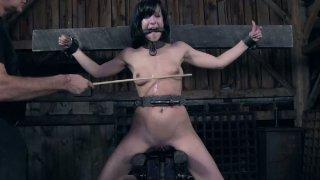 BDSM punishing of nasty brunette mommy Elise Graves Preview Image