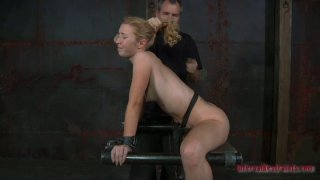 Utmost hardcore BDSM fun with skanky blonde bitch Nicki Blue Preview Image