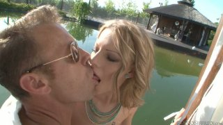Weekend threesome fuck with Nicole Sweet and Rocco Siffredi Preview Image