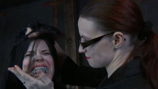 Wicked redhead master punishes her bitch Sybil Hawthorne Preview Image