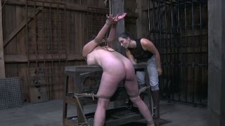 Ugly slut gets fucked in dirty BDSM sex video Preview Image