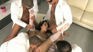 Wondrous nympho Valentina Nappi is mad about a splendid gang_bang Preview Image