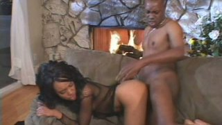 Zealous and sexy Kapri Styles gets her anus drilled on the couch Preview Image