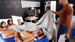 Party Pooper Gets Tied Up at Orgy Preview Image