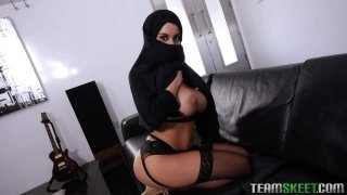 Busty Arabic Teen Violates Her Religion Preview Image