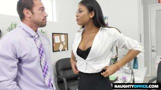 Nia Nacci Fucks Her Co-Worker Preview Image