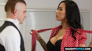Desperate For a Job, Lily Lane, Is Willing to Blow Her Way For a Position Preview Image