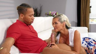 Alena Croft gives nice blowjob to Ricky Johnson Preview Image