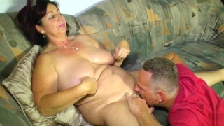 LETSDOEIT - German Amateur BBW Gets Fucked On The Couch Preview Image
