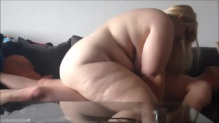 Beautiful blonde BBW has her pussy fucked Preview Image
