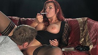 Big titted Milf smoking while fucking Preview Image