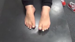 Cute_Mixed_Pregnant_Woman_Feet Preview Image