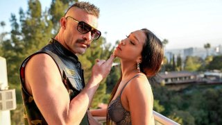 Balcony Bang & Blowout with Vicky Chase! Preview Image
