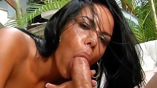 Brazilian bitch gets nailed by her studhorse Preview Image