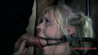 All naked chick with a gag in mouth Sarah Jane Ceylon is a fan of BDSM Preview Image