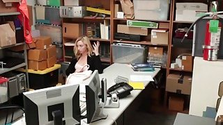 Thief Zoe Jerks And Blows Big Schlong In Office Preview Image