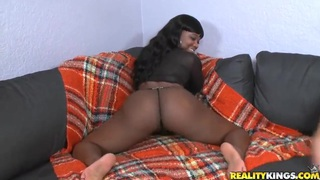 Big ass Boogotti enjoys in interracial sex with Jmac Preview Image