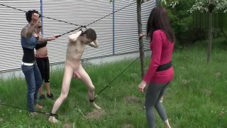 Four Girls Ballbusting Preview Image